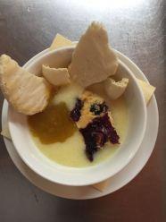 Meringa e composta di limoni (con marmellata di rabarbaro)