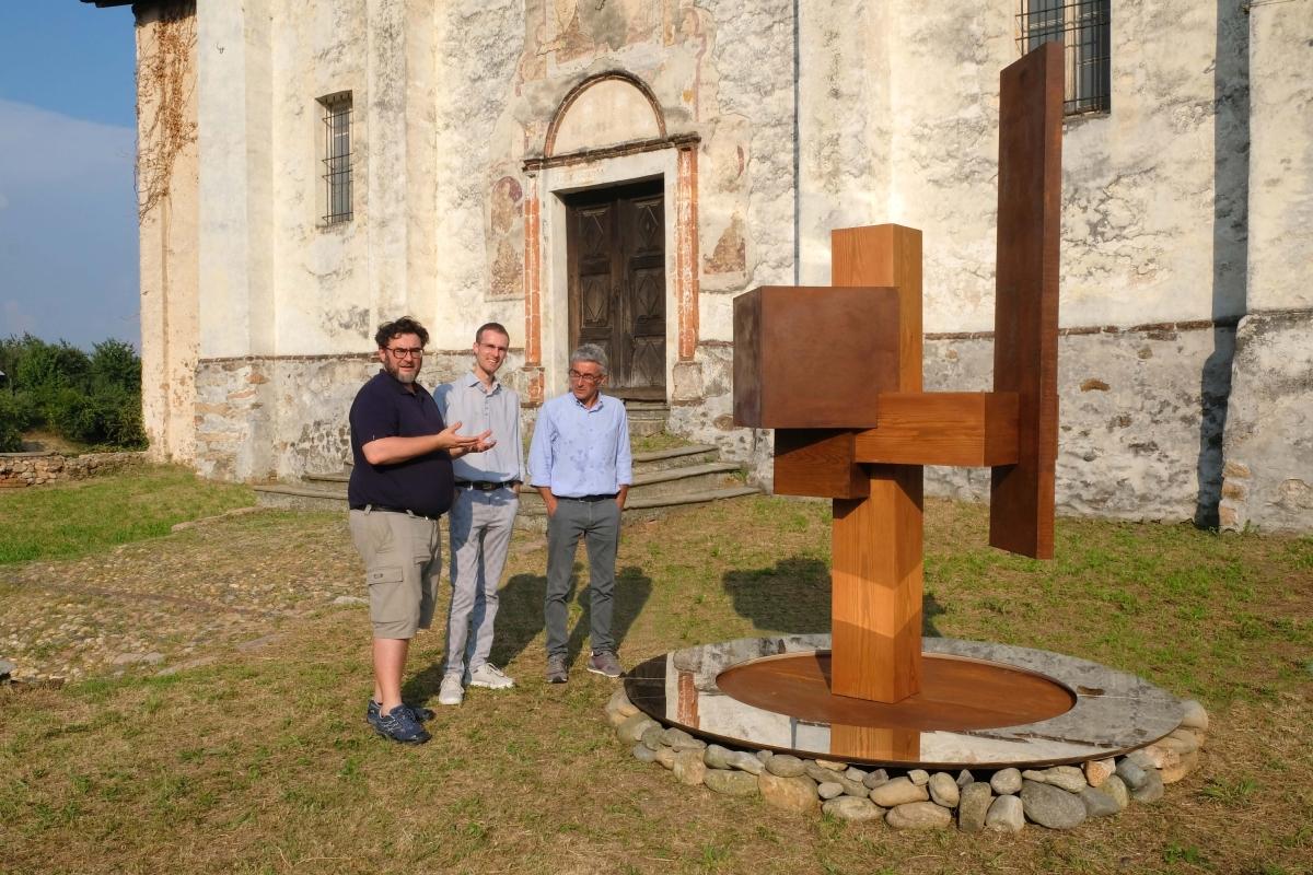 #EventiNelBiellese - Masserano ha ospitato l'ultima opera di Daniele Basso...
